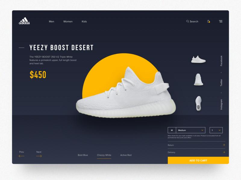 Adidas Original- Web Concept