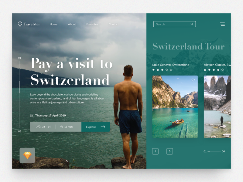 Travelster Website travel app booking adventure wanderlust app ios traveling travel icon logo website webdesign web ux ui typography identity minimal design branding