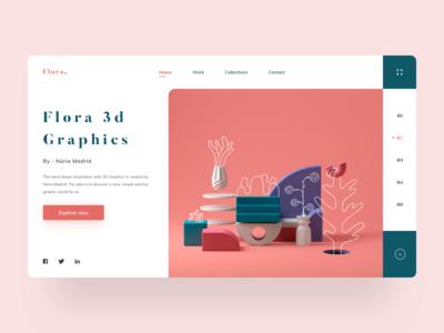 Flora Web Concept