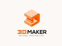 3D Maker Logo