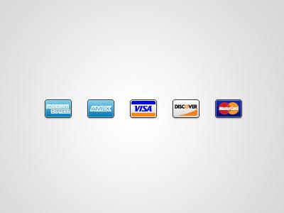 Major Credit Cards credit cards visa master discover