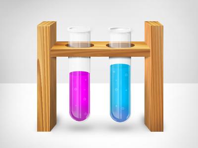 Labs test tubes test tube beaker chemistry rad illustration