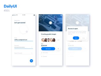 Daily UI :: 001 - Registration