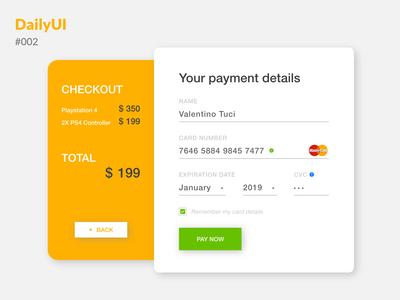 Daily UI :: 002 - Checkout