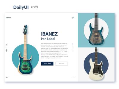 Daily UI :: 003 - Landing Page
