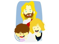 Kids with Jesus