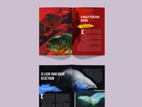 Template Page Layout Animal Magazine