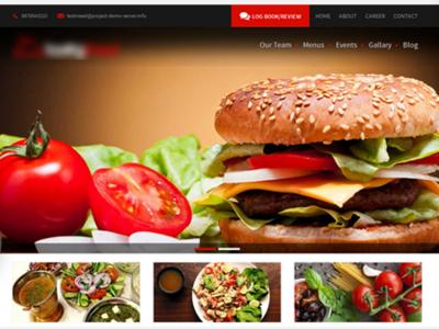 Food Website Development Services