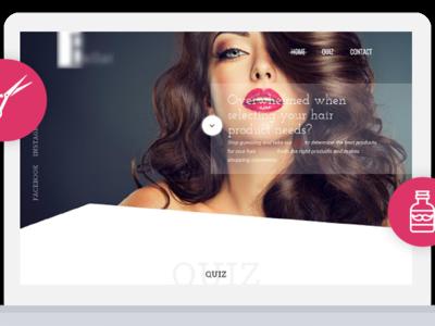 Quiz Website Design and Development