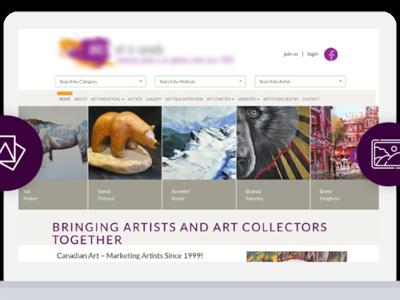 Arts Related Website Design and Development web design cms development wordpress development web development