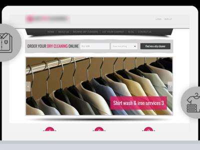 Ecommerce Website Design and Development For Dry Cleaner Website cms development ecommerce development ecommerce web development