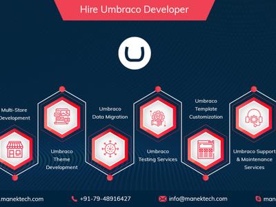Hire Dedicated Umbraco Developers - ManekTech