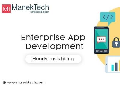 Enterprise App Development Company   ManekTech