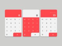 Daily UI: #003 Calculator