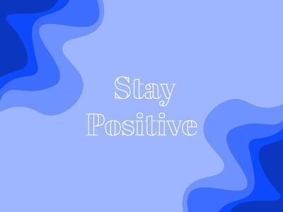Positivity Wallpaper wallpaper vector illustration design