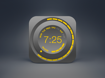 Alarm, clock icon  ui wheel knob time snooze icon psd free clock alarm
