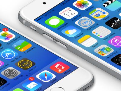 Alarmix and Alarmix Ice ui wheel knob time snooze icon clock alarm application apps mockup