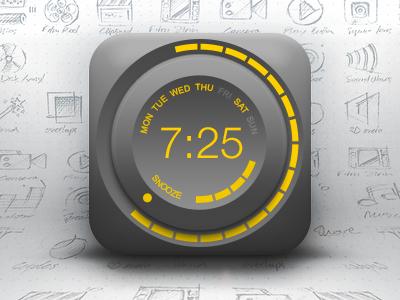 Icon of Alarm, Clock, Knob, Wheel alarm clock free psd icon snooze time knob wheel ui