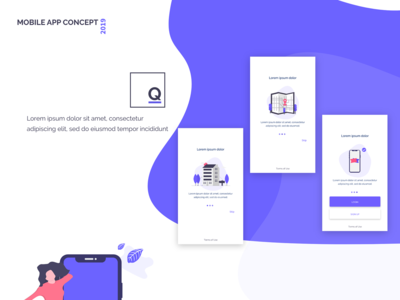 Mobile app concept (ui/ux)