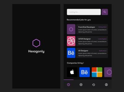 Hexagonly mobile App
