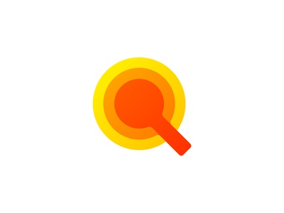Magnifying glass icon effective timeless unique icon artwork app geometric art dynamic effect logo designer branding and identity minimalist flat modern