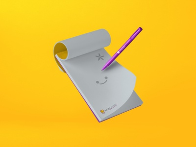 Vanilla Smiles — Brand Identity Design modern stationery design logo medical collateral branding illustration teeth dental