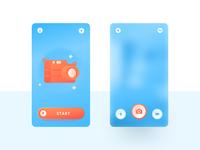 App camera screen