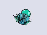 Sea jelly illustration