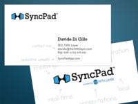 SyncPad business cards