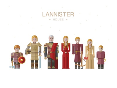 Lannister house thrones of lannister game thron film series people character child sword weapon
