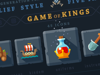 Game of kings, 45 icons.