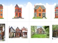 6 houses