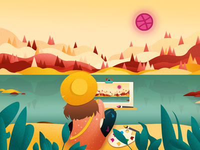hello  dribbble illustration illustrations