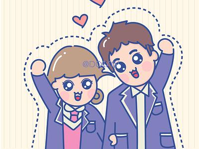 Lee Mong-ryong illustration figures
