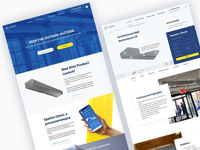 Corporate website redesign wip ux ui webdesign corporate website
