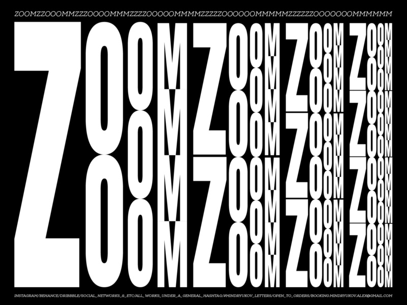ZOOM // visual experements