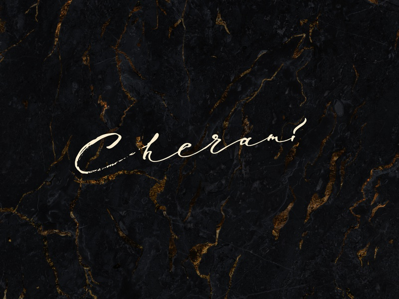 CHERAMI / logo for clothing brand clean concept letter typedesign type art typeface type cloting brand cherami sign mark logo design calligraphy lettering print vector illustration typography
