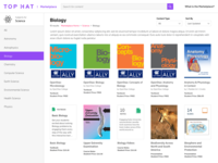 Top Hat Marketplace Subject Page