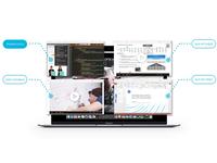 Laptop Navigation UI