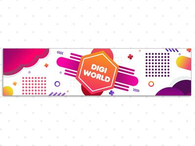 Digi World Banner