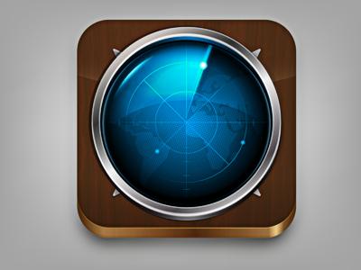 Tracking icon draft iphone app icon draft