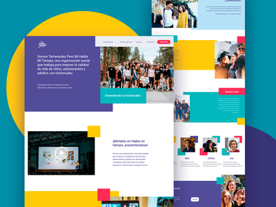 MHMT homepage design laboratoria mexico ux ui homepage homepagedesign
