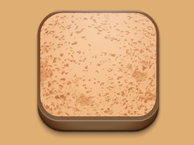Icon for a carb counting app icon bread