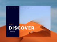 Daily UI #003: Landing Page