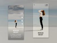 Daily UI #06: Profile