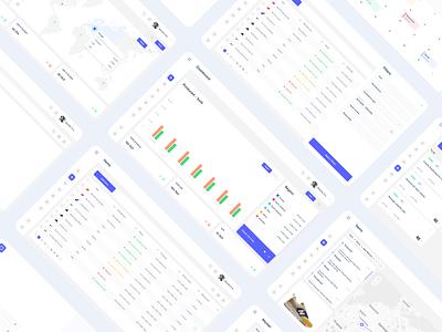 Dashboard system desktop web dashboad saas ux minimal design ui