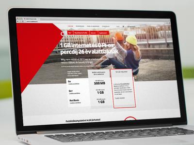 Vodafone.hu subpage