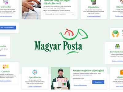 Hungarian Post Web Applications UI Kit