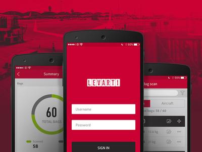 Levarti MAX ramp App redesign