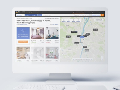 Otthontérkép website redesign